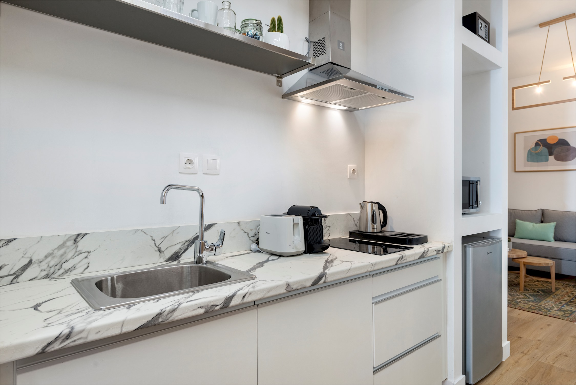 Premium Deluxe Apartment with Shared Terrace